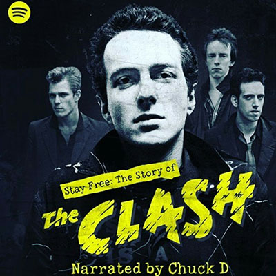 Album cover art for Stay Free: The Story of The Clash